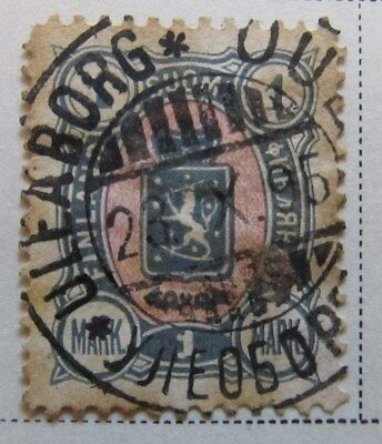 A8P3 Finland 1889-95 1m used #190