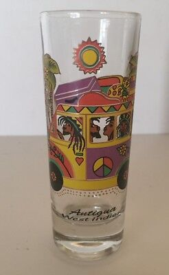 Antigua West Indies Tall Shot Glass