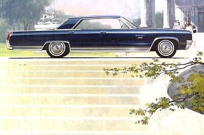 1963 Oldsmobile 98 Automobile ORIGINAL Detroit Advertising Art Painting md309
