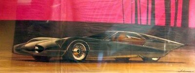 c. 1965 Oldsmobile Concept Automobile Styling Art Painting Robert Akerman md3105