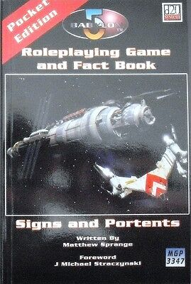 Babylon 5 RPG, D20, Signs and Portents RPG, Mongoose MGP3347, englisch