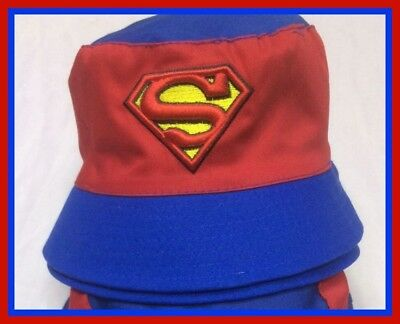 Children's Cotton Bucket Hat - Superman - Top Quality