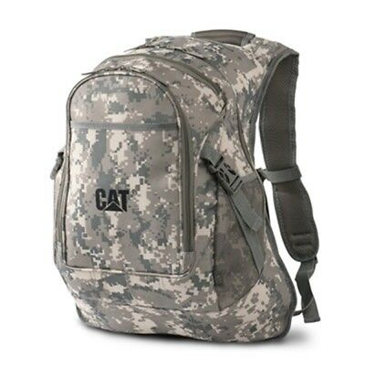 Caterpillar CAT Equipment Digital Camo Camouflage Backpack