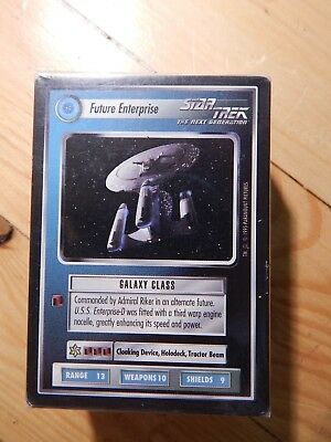 Star Trek CCG Complete Alternate Universe (with Ultra Rare Future Enterprise)