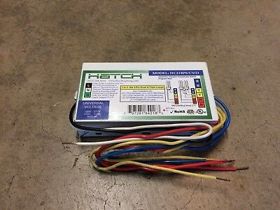 HATCH HC218PS/UV/D 2 lamp 18W CFL Compact Fluorescent Ballast 120-277V