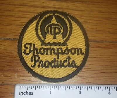 "Thompson Products Roundel Yellow ""pre TRW"" 