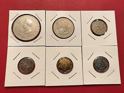 Philippines 1981 6-Coin Proof Set, All Carded