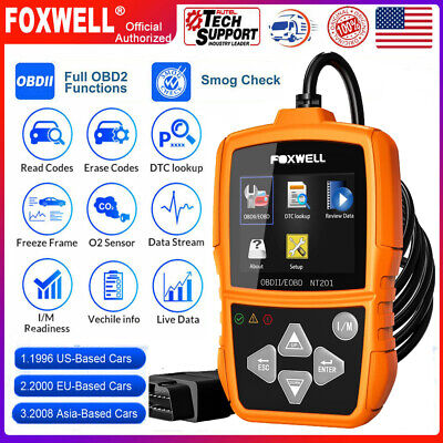 Foxwell NT201 Universal Code Reader Automotive Scanner Engine Diagnostic Tool US