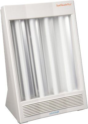 Light Therapy Sun Lamp - NatureBright SunTouch Plus Light and Ion Therapy Lamp