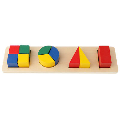 Wooden Toys, Montessori Geometry Leaning Early Educational Toys for Kids #2