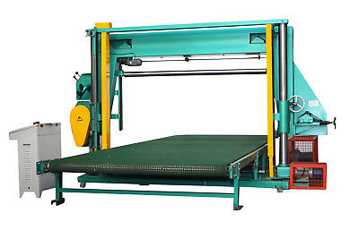 Foam Slitter Cutter Band Saw Cutting Machine with PLC and Touch screen