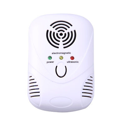 UN3F 6W Electronic Ultrasonic Mouse Killer Mouse Cockroach Trap Mosquito Repelle
