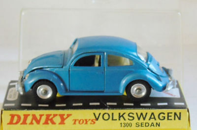 two headligt DINKY TOYS 163 VW 1600 TL FASTBACK 2 phares jaune diamètre 3,5mm