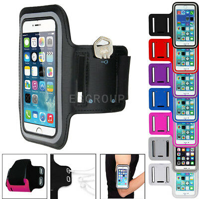 For Samsung S9 Plus / A8 Sports Running Jogging Gym Armband Arm Band Case Holder
