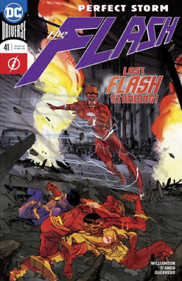 Dc The Flash #41 First Print