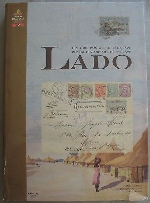 s1921) Postal History of the Enclave LADO - Book Colony Belgium