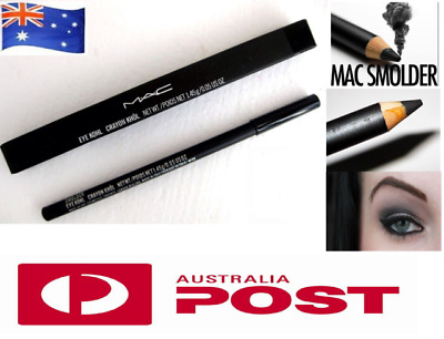 BNIB MAC Black Eyeliner Pencil Smolder Kohl Eye Liner SYDNEY STOCK