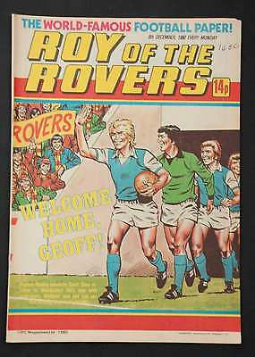 ROY OF THE ROVERS - 6th Dec 1980 - Vintage / Retro Football Comic