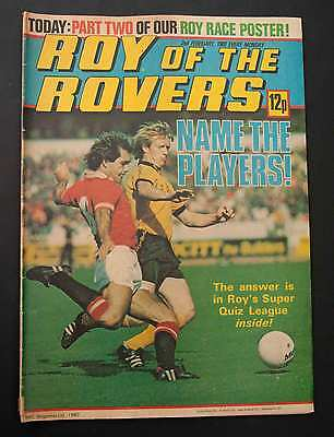 ROY OF THE ROVERS - 2nd February 1980 - Vintage / Retro Football Comic