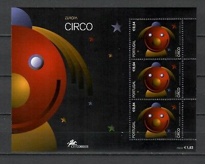 s21718) PORTUGAL  2002 EUROPA CEPT MNH**  S/S Circus