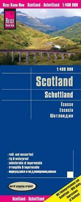Reise Know-How Landkarte Schottland 1 : 4 00 000, Reise Know-How Verlag, Deutsch