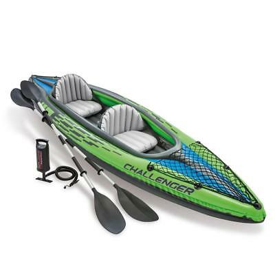 Canoa gonfiabile Intex 68306 Challenger K2 2 persona remi pompa Kayak 2018 Rotex