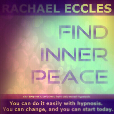 Find Inner Peace, self hypnosis hypnotherapy CD