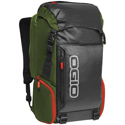 Ogio Throttle Street Motorcycle Backpack Green