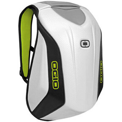 Ogio No Drag Mach 3 Street Motorcycle Backpack White