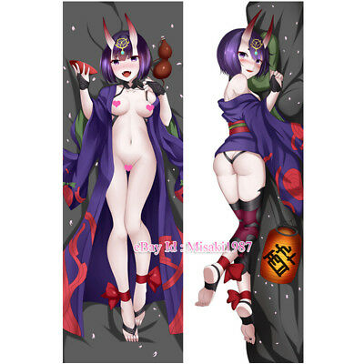 Fate/Grand Order Dakimakura Shuten Douji Anime Hugging Body Pillow Case Covers