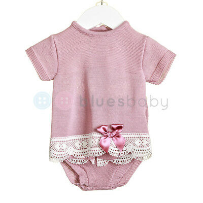 Zip Zap Baby Girls Spanish Style Romany Knitted Bow Top & Jam Pants Outfit SS'18
