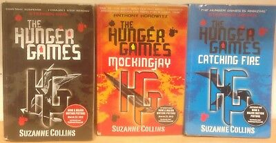 The Hunger Games Trilogy, by Suzanne Collins: collection of 3 children's books