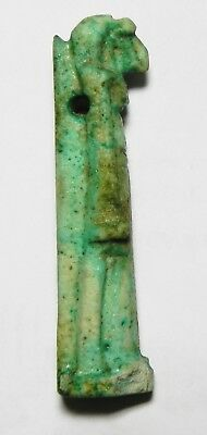 Zurqieh -As3296- Ancient Egypt , Large Faience Thoth. 1075 - 600 B.c
