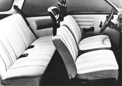 1976 Saab 96L Interior ORIGINAL Factory Photo oua2409