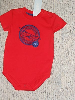 "NWT - Gymboree ""State Fair Day"" short sleeved red & blue shirt - 3-6 mos boys"