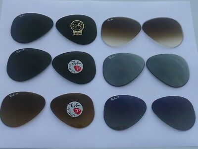 New RayBan RB3025 /RB8317/RB3558/RB3138/RB3030 Replacement lenses100% Authentic