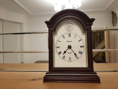 Tempus Fugit Westclox Warwick Bracket Clock Quartz Made in England