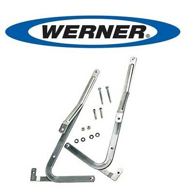 New OEM Werner 55-1 Attic Ladder Spreader Hinge Arms MFG 2006 And Older (Pair)