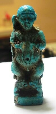 Zurqieh -As3310- Ancient Egypt , Huge Amulet Of Pataikos. 600 - 300 B.c