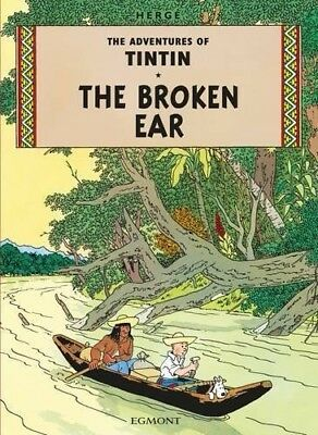 The Broken Ear (Adventures of Tintin) by Herge | Paperback Book | 9781405206174