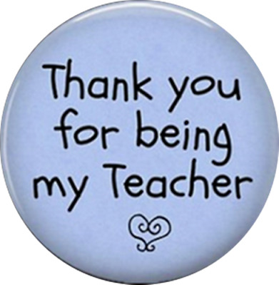 10pcs Thank you for being my Teacher  Domed Handmade Glass Cabochons, 25mm