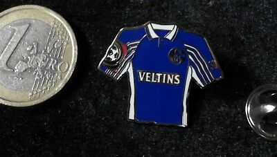S04 Schalke Trikot Pin Badge Home 1999 / 2000 Veltins Bier