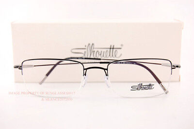 ec00aed036 New Silhouette Eyeglass Frames Dynamics Colorwave Nylor 5496 9040 Black