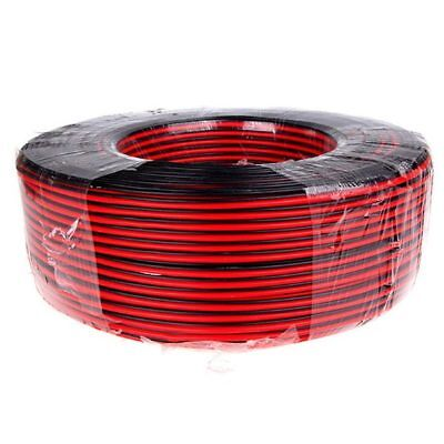 22 GAUGE 8M RED BLACK ZIP WIRE AWG CABLE POWER GROUND STRANDED tinned coppe R3U1