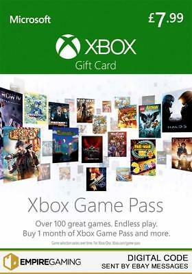 Xbox Game Pass - 1 Month Xbox One / Xbox 360 (Xbox Live Download Key)