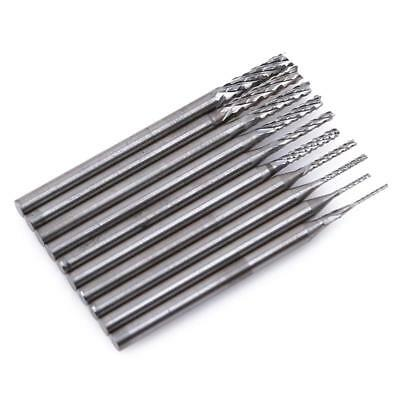 10X Set Tungsten Steel Solid Carbide Burrs Carving for Rotary Tool Drill Bit 6a