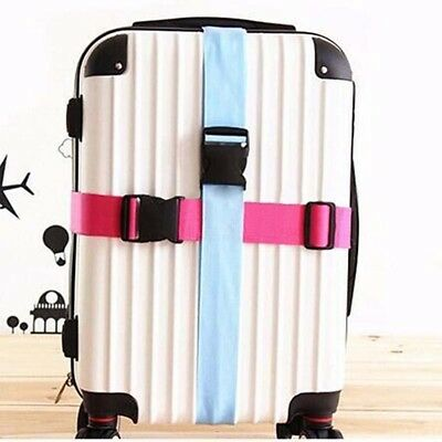 Secure Baggage Suitcase Packing Binding Luggage Travel Adjustable Belt