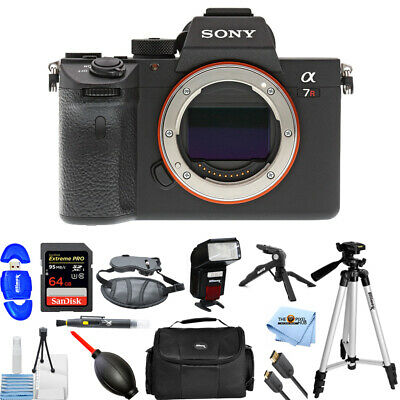 Sony Alpha a7R III Mirrorless Digital Camera (Body Only) PRO BUNDLE BRAND NEW