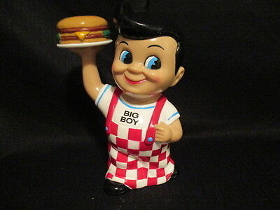 Frischs Big Boy Coin Bank Restaurant Collectable 1999