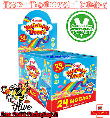 SWIZZELS RAINBOW DROPS LARGE 32g BAG TRADITIONAL CLASSIC SWEET CHEAPEST ON eBay